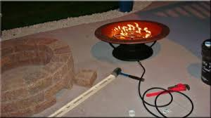 Firepit Burner Ingenious Idea How To Make A Gas Pit Outdoor Pits