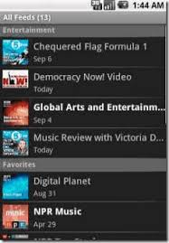 rss reader android beyondpad free podcast manager and rss feeds reader for android