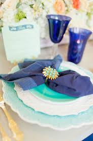 eclectic navy mint u0026 peach wedding ideas every last detail