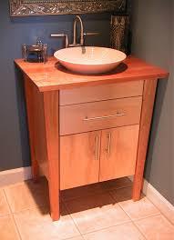 Bathroom Vanity With Top by Aesthetic Single Sink Bathroom Vanity With Top Using Varnished