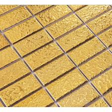 floor tile and decor ceramic pool tile mosaic gold wall fireplace decor 1 x 2 brick tiles