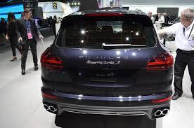 used porsche cayenne turbo s 2016 porsche cayenne debuts autocar review