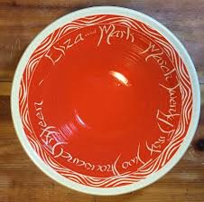 personalized wedding platter wedding bowls personalized gifts