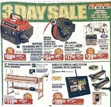 home depot black friday ad 2016 wen nail gun harbor freight tools black friday 2017 sales u0026 ad scan blacker