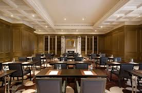 carnegie meeting room the st regis dubai hotel