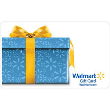 blue and yellow ribbon blue present with yellow ribbon gift card walmart