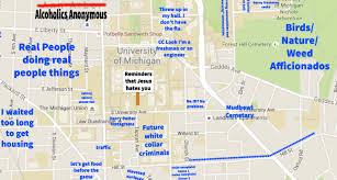 Vcu Map A Judgmental Map Of Ann Arbor Michigan