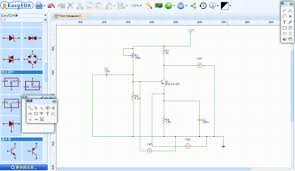 schematic capture spice circuit simulation and pcb layout online