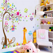 compare prices on decorated kids rooms online shopping buy low kindergarten bedroom decorating kids room wall stickers for kids rooms adhesive decorative vinyl wall mural wall