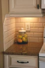 Kitchen Backspash Country Cottage Light Taupe 3x6 Glass Subway Tiles Subway Tile