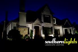 Landscape Lighting Techniques Landscape Lighting Techniques Silhouetting Southern Lights Of Nc