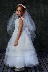 holy communion dress organza holy communion dress w pearl waist in white or ivory