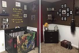 harry potter chambre la chambre de bébé à thème harry potter la plus magique des