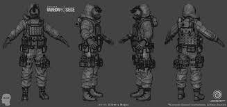 artstation rainbow six siege hazmat suit gilberto magno