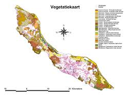 Bonaire Map Dcna Is Mapping Nature Dutch Caribbean Nature Alliance