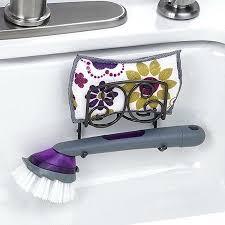 Kitchen Sink Brush Kitchen Sink Scrubber Holder Sponge Dish Brush Holder Drain Away