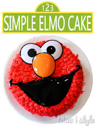 Simple Cake Decorating Entertaining With Style A Simple Elmo Cake U0026 Basic Cake