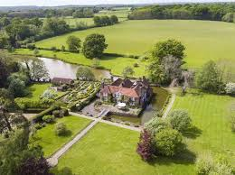 property of the week this grand former rectory sits within a moat