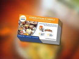 catering business cards templates free download archives free