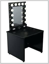 black vanity set with lights vanities jrs wood vanity set with stool and mirror black finish