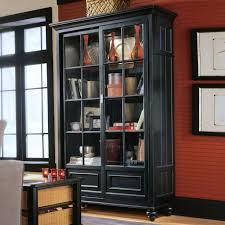 Ebay Bookcases Bookcase Dark Wood Bookcase With Glass Doors Dark Wood Bookcase