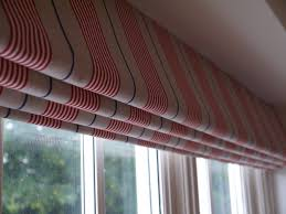 Blackout Curtains And Blinds Roman Blind In Ian Mankin Stripes For A Boy U0027s Bedroom Blackout