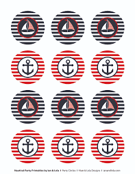 free nautical party printables from ian u0026 lola designs catch my
