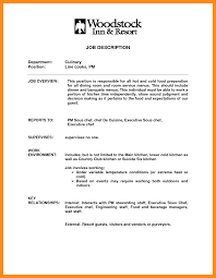 Prep Cook Resume Examples Line Cook Resume Sample Template