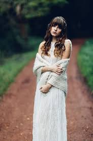 picture of a dove grey knit coverup for a boho to feel warm