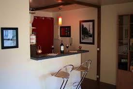 bar am icain cuisine design cuisine bar americain maison brico décoration