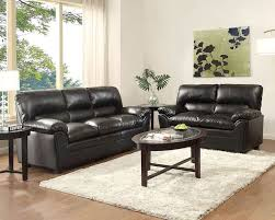 Black Leather Sofa Set Sofa Set Talon By Homelegance El 8511bk Set