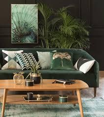 green botanical home decor autumn winter 2017 new look green
