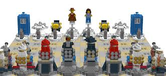 lego ideas doctor who u0026 the daleks the chess set