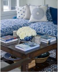 Porcelain Blue Rug How To Decorate With Blue Rugs And Moroccan Tile Patterns