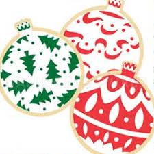 ornament cookie cutter stencil set