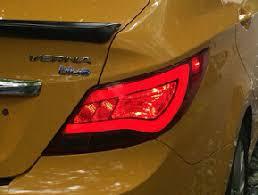 brand hyundai accent aliexpress com buy 1pair arrival brand led rear light