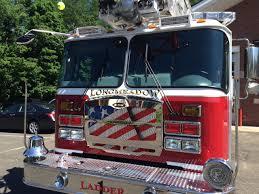 american flag truck lfd receives aerial ladder truck longmeadow news