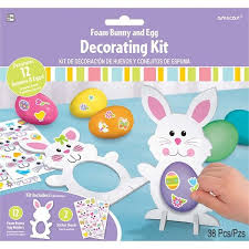 easter egg decorating kits amscan easter foam egg decorating kit reviews wayfair