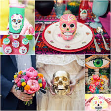 dia de los muertos wedding inspiration oh lovely day