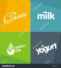 lukeruks logo design concepts set on shutterstock dairy products