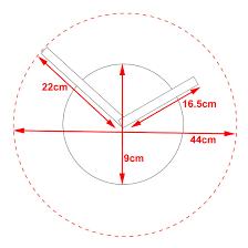 karlsson little big time mini aluminum diy modern wall clock ebay