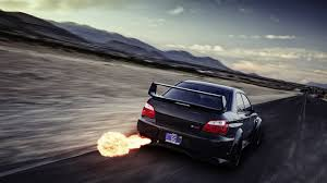 stanced subaru iphone wallpaper subaru wrx sti backfire flame motion blur hd wallpaper cars