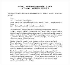example letter of recommendation for faculty tenure resume