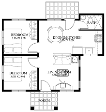 floor plans small houses single story small house plan lot area 110 square meters
