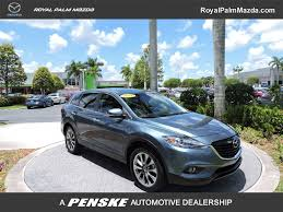 nissan pathfinder vs mazda cx 9 2014 used mazda cx 9 fwd 4dr grand touring at royal palm toyota