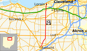 Map Of Bowling Green Ohio by Ohio State Route 58 Wikipedia
