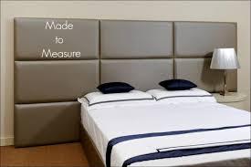 Headboard Nightstand Attached Bedroom Fabulous King Headboard With Built In Nightstands