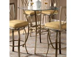 Bar Height Bistro Table Hillsdale Brookside 4815ptb Bar Height Bistro Table With Splayed