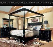 canopy bedroom set ebay