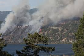 Wildfire Bc Area by Expect Return Of Wildfire Smoke To Castlegar Castlegar News